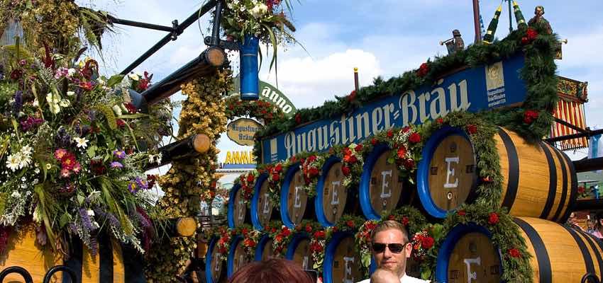 München Oktoberfest Sehenswürdigkeit