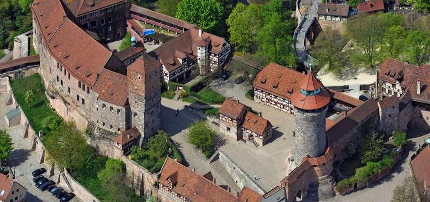 Nürnberg Sehenswürdigkeit Kaiserburg